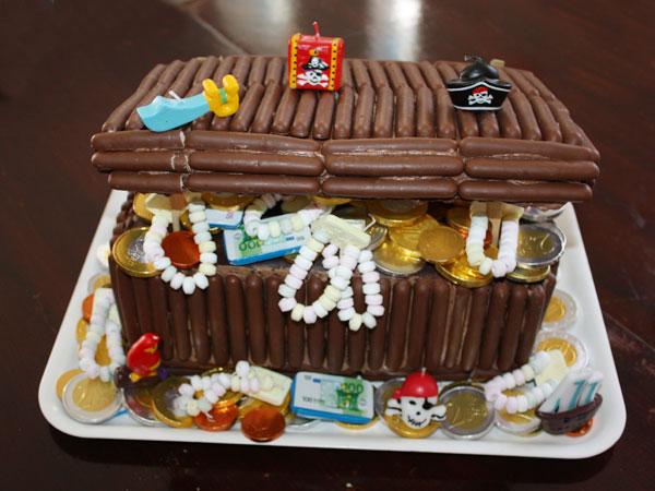 Preferenza Il forziere dei pirati! Torta di compleanno super-cioccolatosa  QZ07