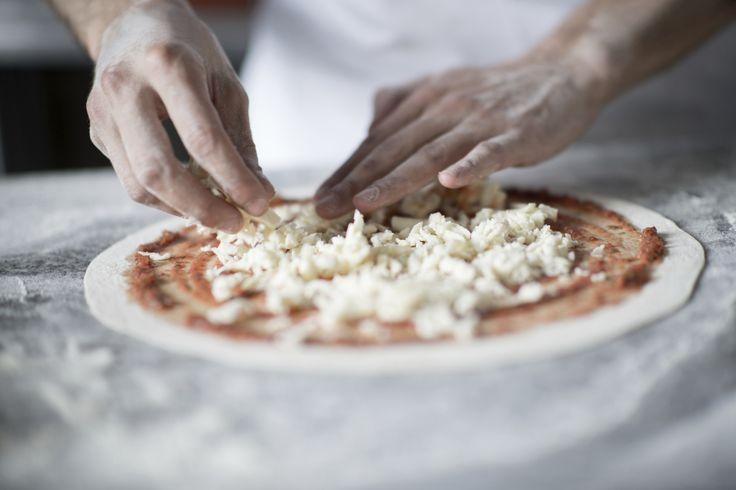 pizza perfetta foto presa da pinterest
